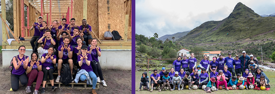 ASB Teams in Peru and New Orleans
